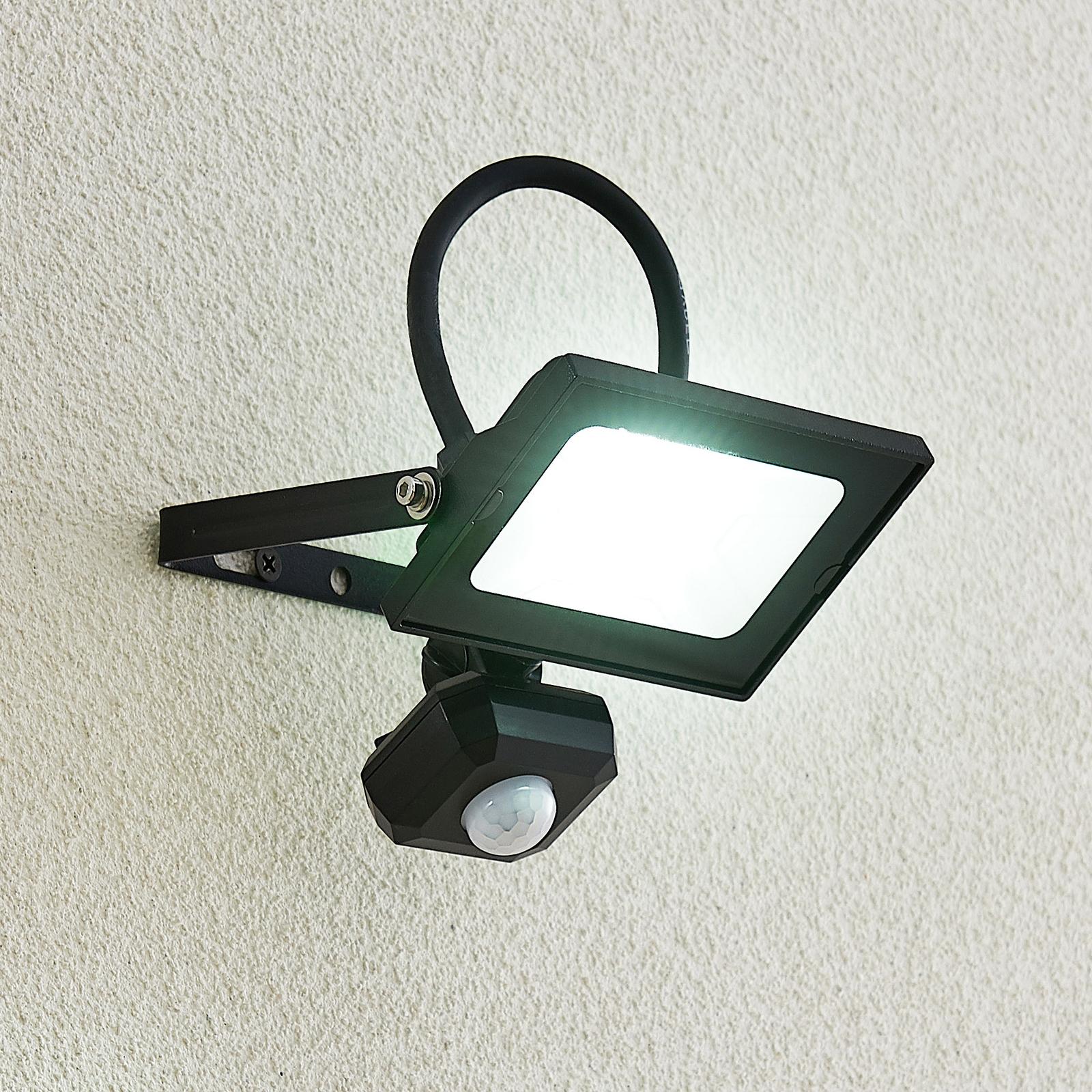 Lindby Aine - LED-kohdevalaisin musta 12,3 cm