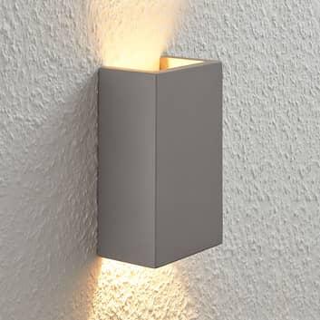 Betonové nástěnné svítidlo Smira všedé, 11×18cm