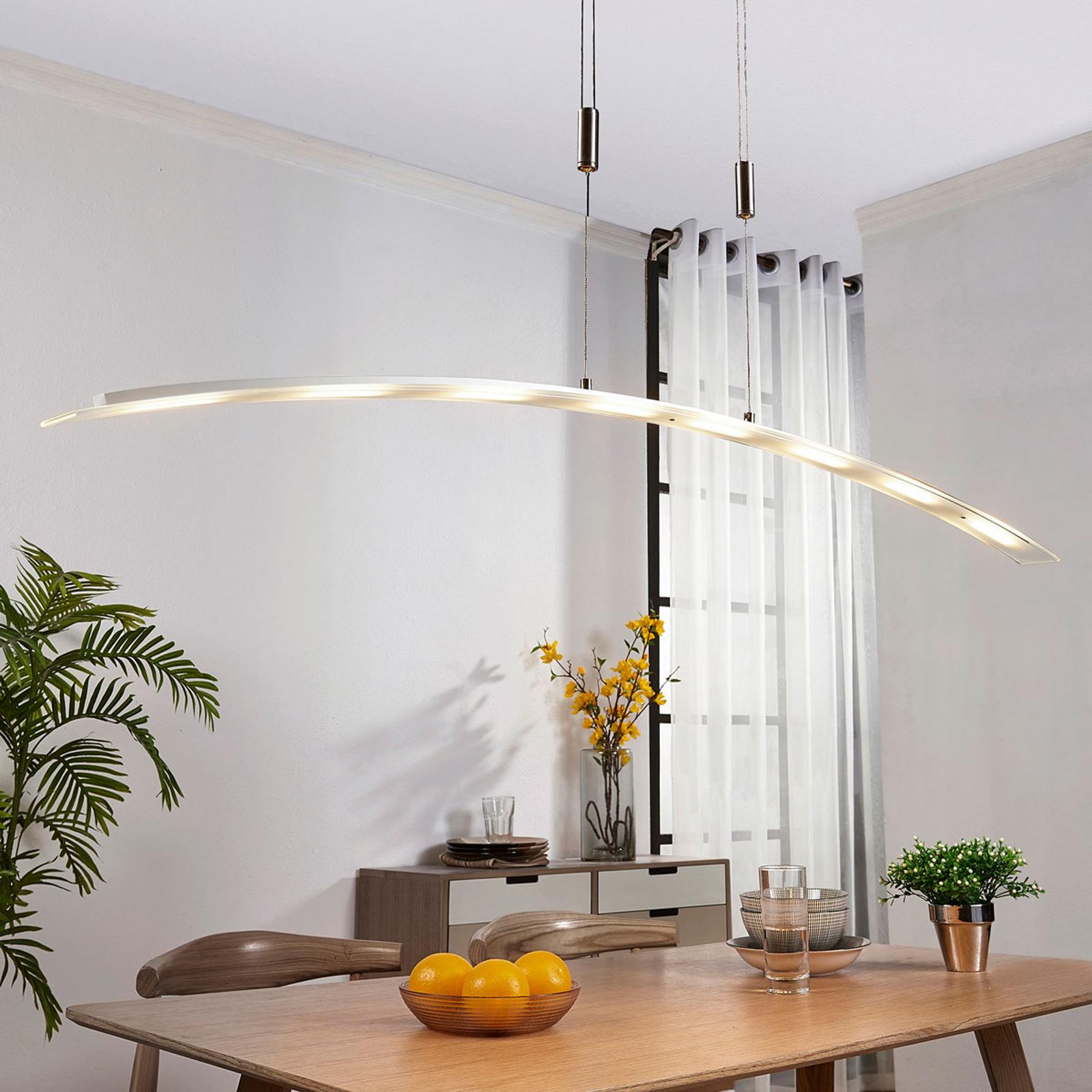 Manon - výškově nastavitelná závěsná LED lampa