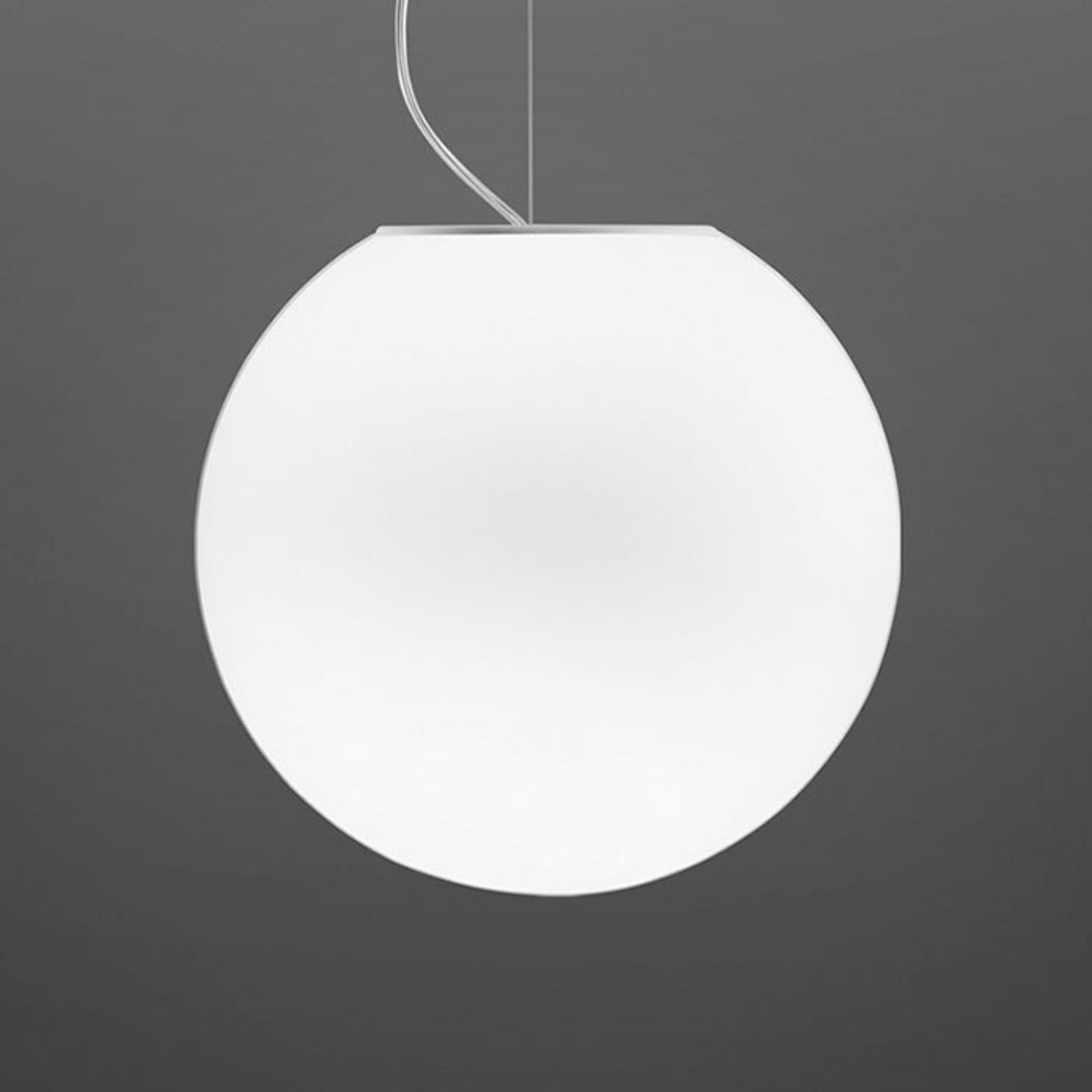 Fabbian Lumi Sfera Glas-Hängeleuchte, Ø 35 cm