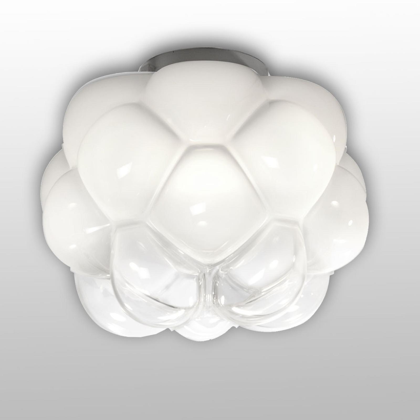 Fabbian Cloudy - LED-loftlampe i skyform, 26 cm