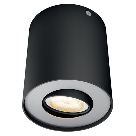 Philips Hue White Ambiance Pillar spot LED czarny