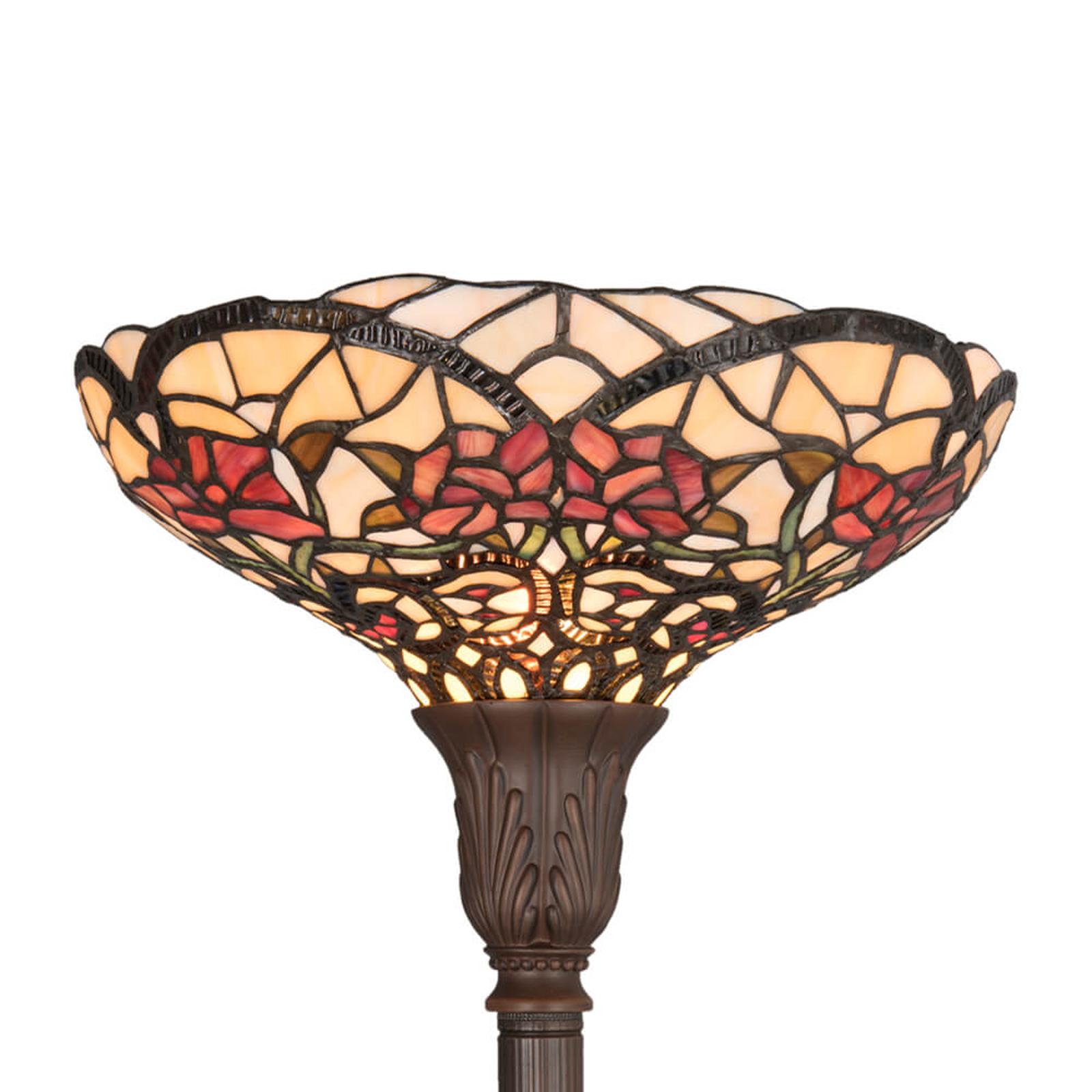 Vårlig stålampe Kayla i Tiffany-stil