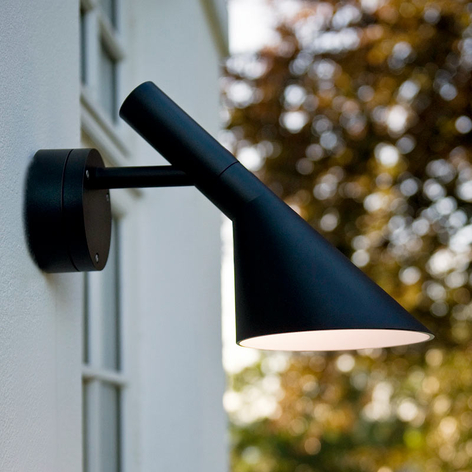 Louis Poulsen AJ aplique LED exterior estructurado