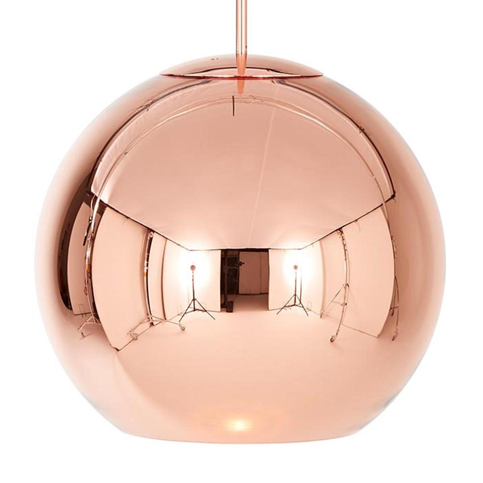 Copper Round - lampada sosp forma sferica 40 cm
