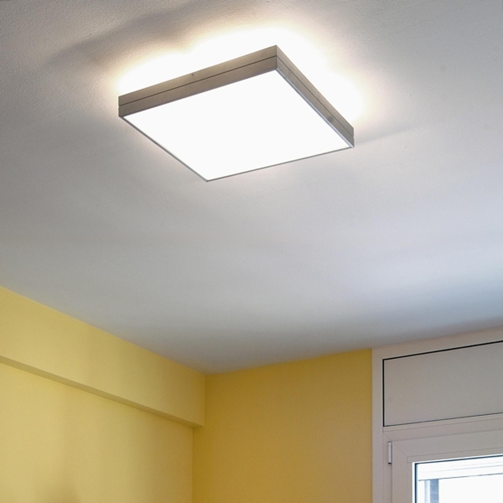 LINEA - purystyczna lampa sufitowa, 42 cm