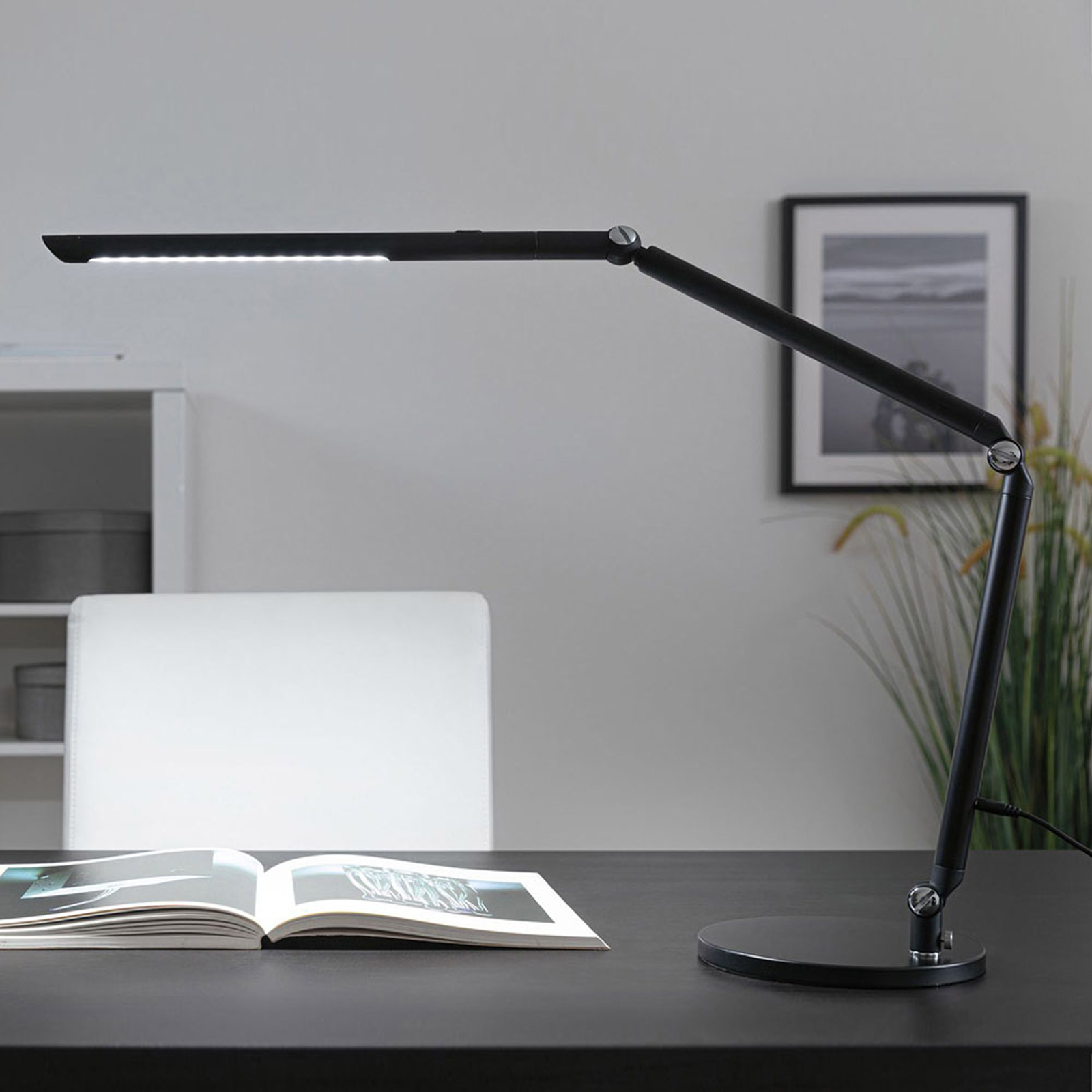 Paulmann FlexBar LED bureaulamp zwart