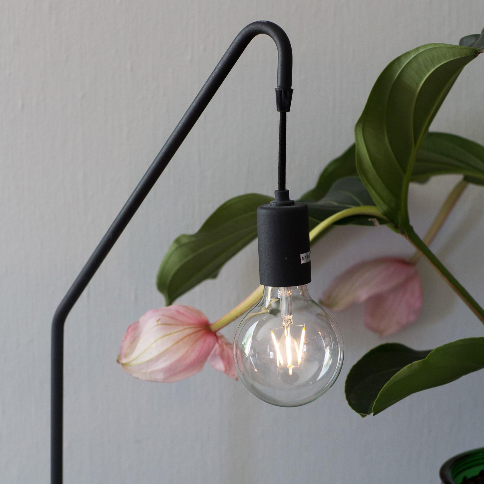 By Rydéns Rod lampe à poser, noire, hauteur 60 cm