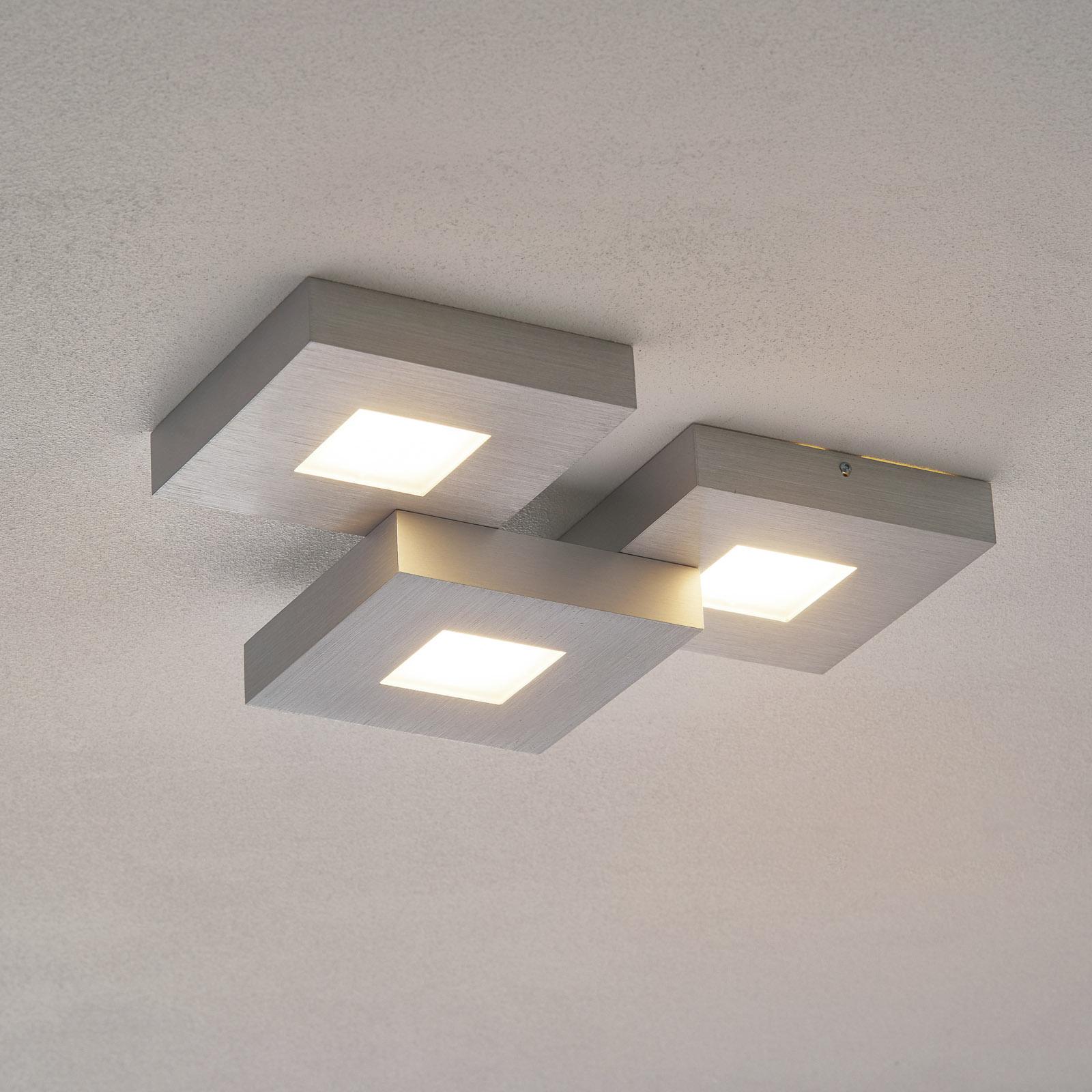 Bopp Cubus - 3-flammige LED-Deckenleuchte