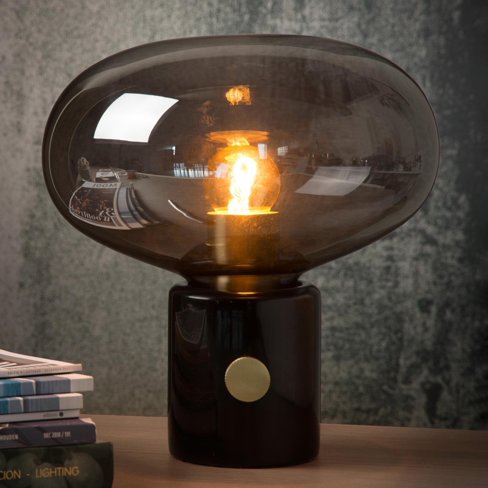 Tafellamp Charlize rookgrijs