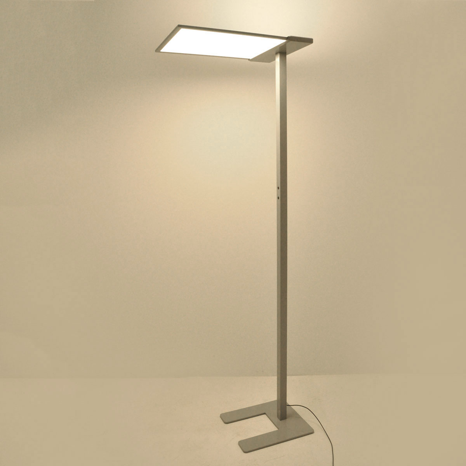 LED-Office-Stehlampe Esmael, 36W + 20W Dimmer