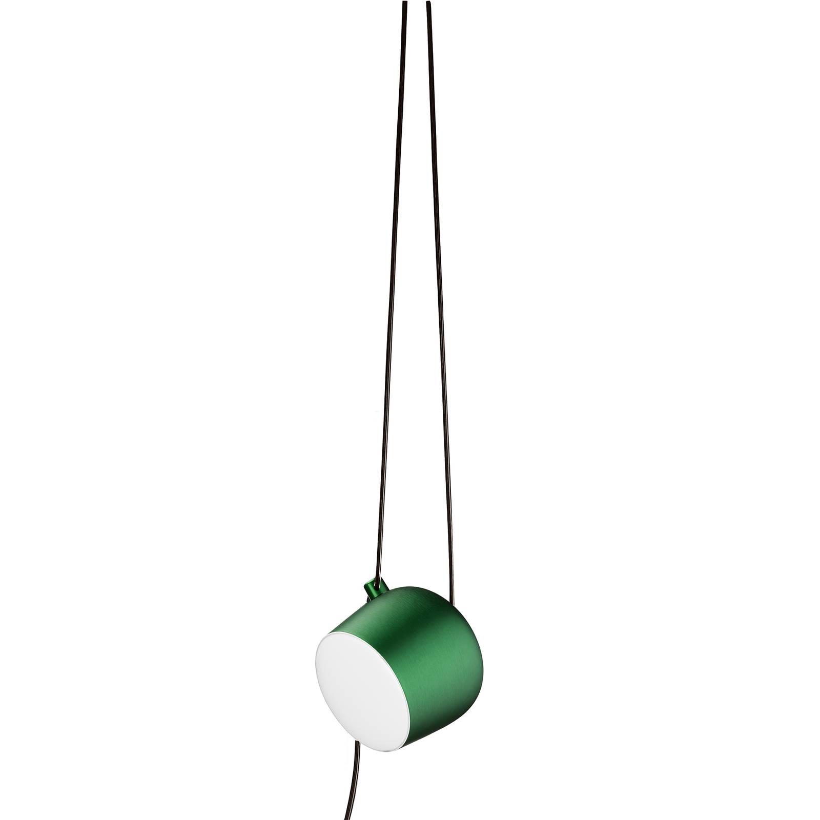 FLOS Aim Small LED-Hängeleuchte, grün