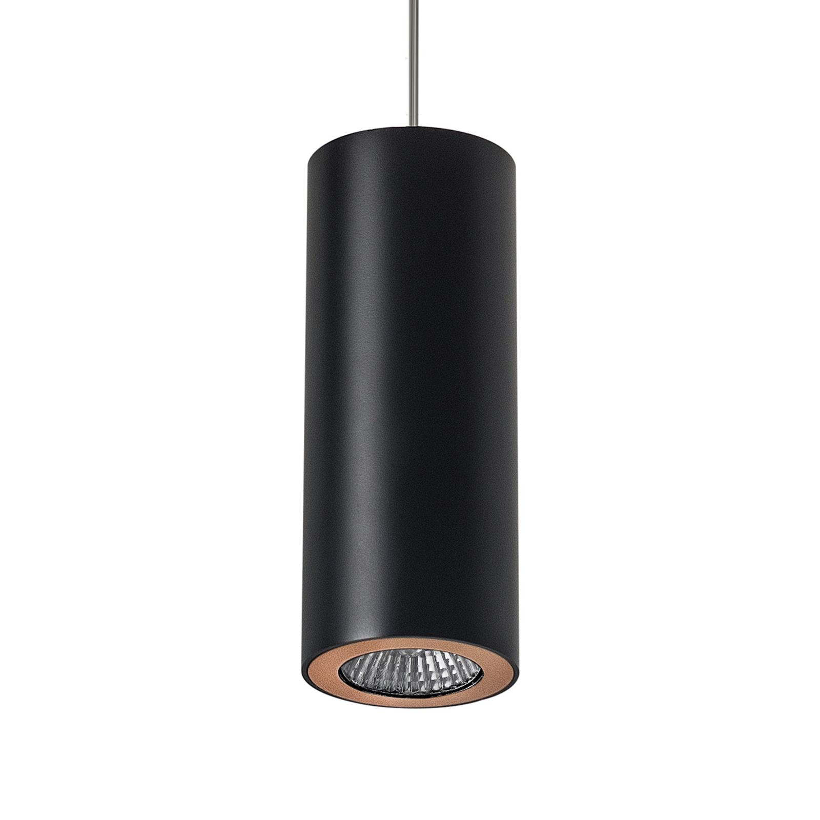 LEDS-C4 Pipe hanglamp, zwart-goud