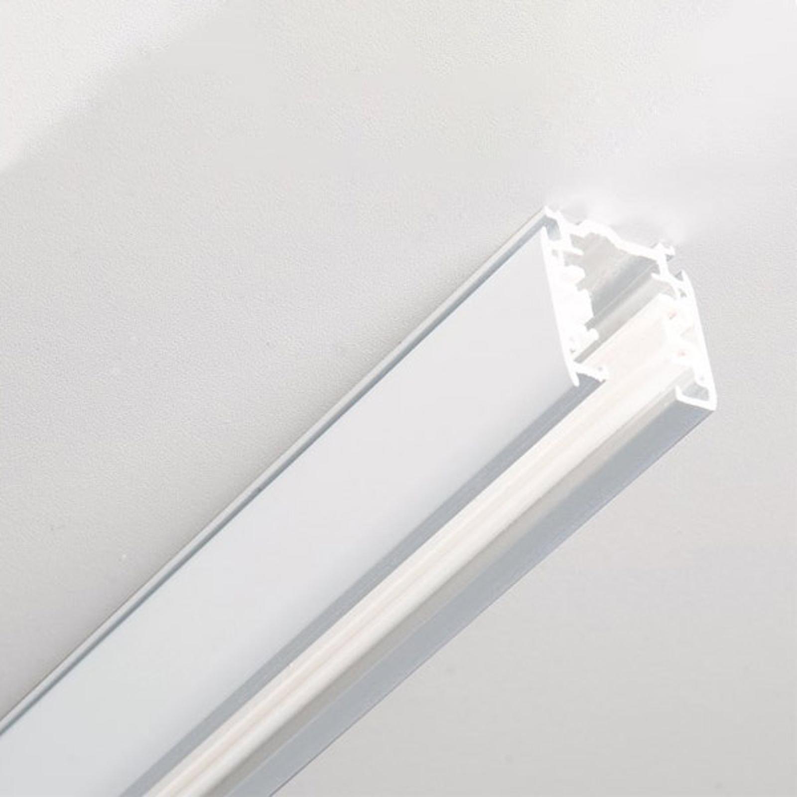 Noa aluminium 3-fase strømskinne 200cm, hvit