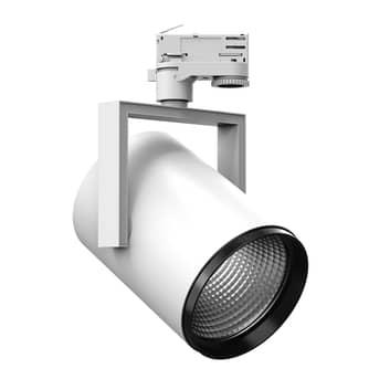 3-faset skinnespot AS425 LED Medium hvit