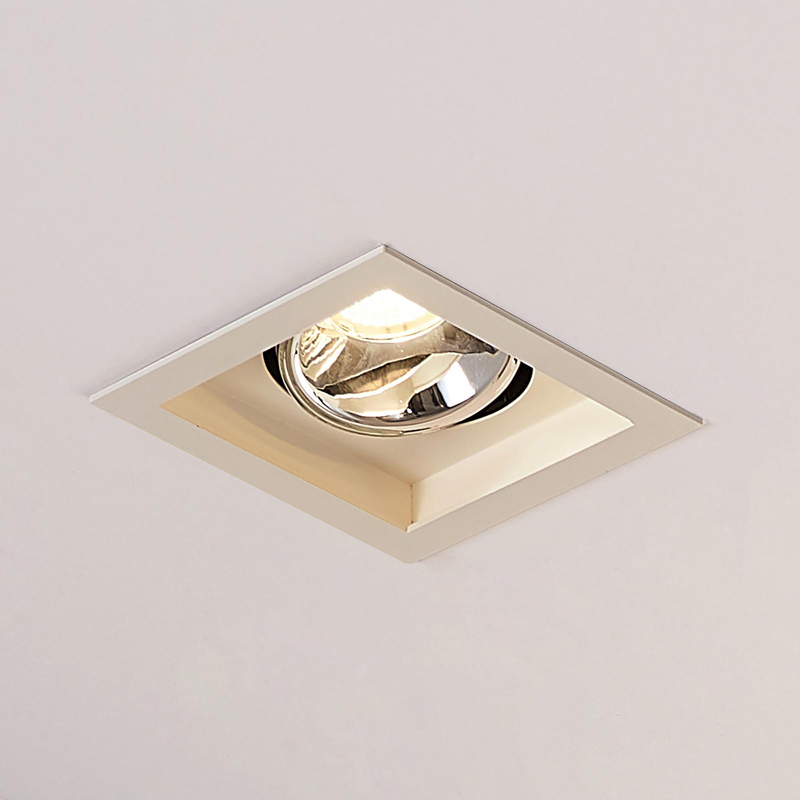Arcchio Frode LED-Downlight eckig, 3.000K 12,6W