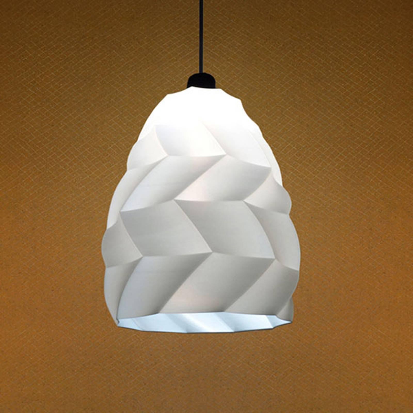 Hanglamp Kokon, wit