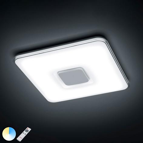 LED-Deckenlampe Brajan, 3.000-5.500 K, eckig
