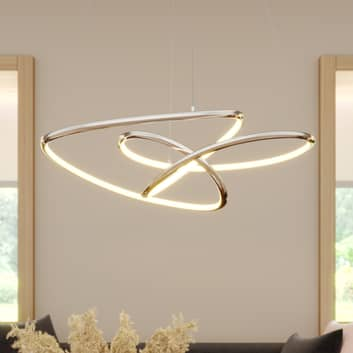Lucande Fluxus lámpara colgante LED, atenuable