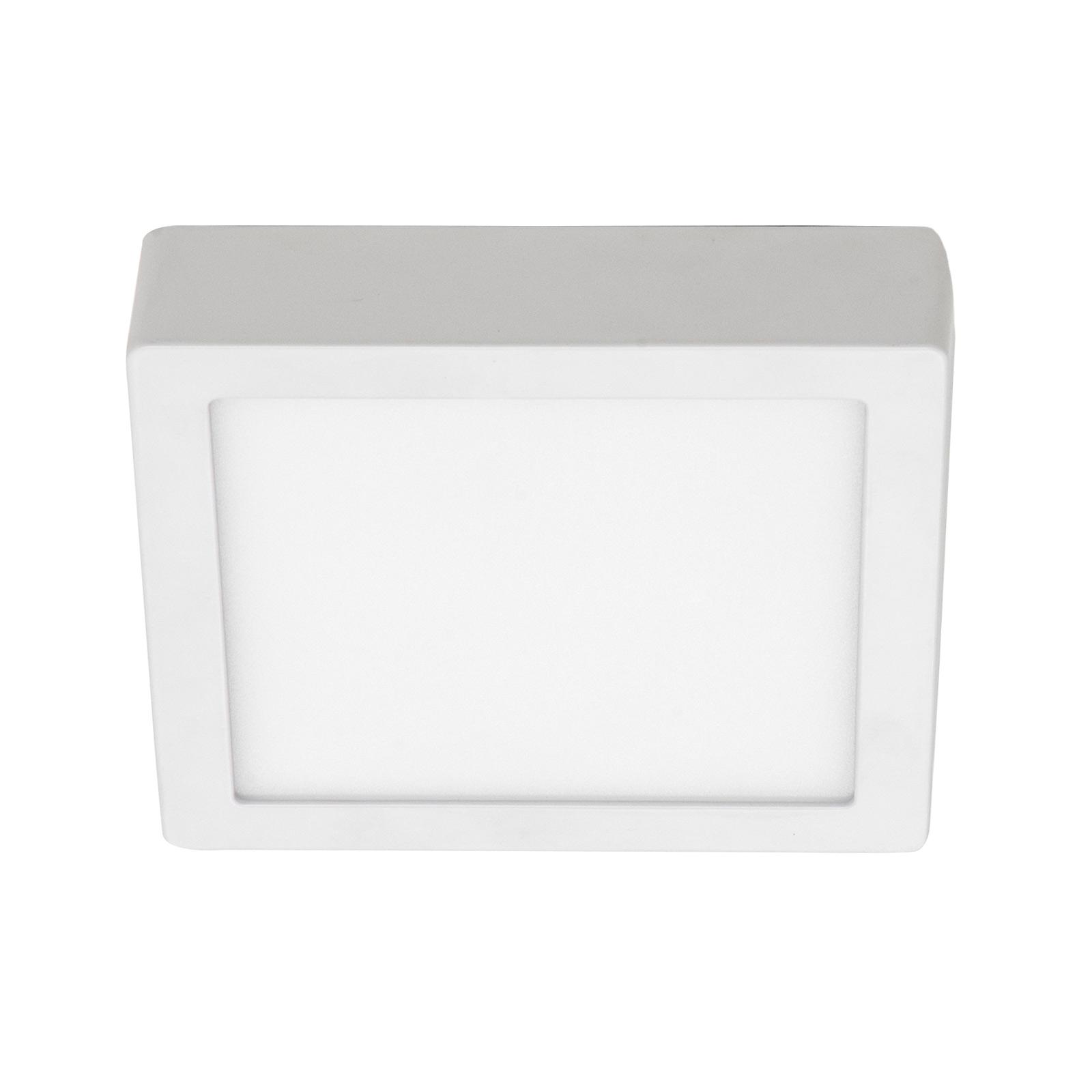 BRUMBERG Flat37 LED-Deckenpanel, eckig, 18 x 18 cm