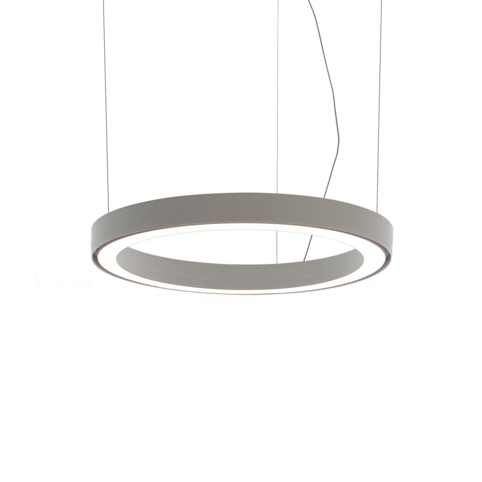 Artemide Ripple LED-hänglampa vit, Ø 50 cm