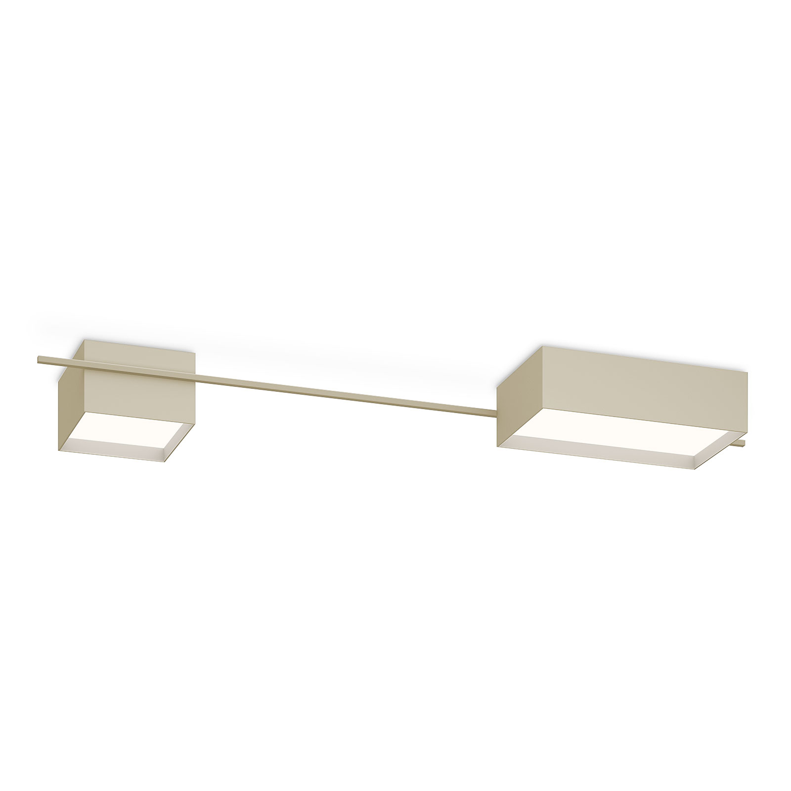 Vibia Structural 2642 taklampe, lysegrå