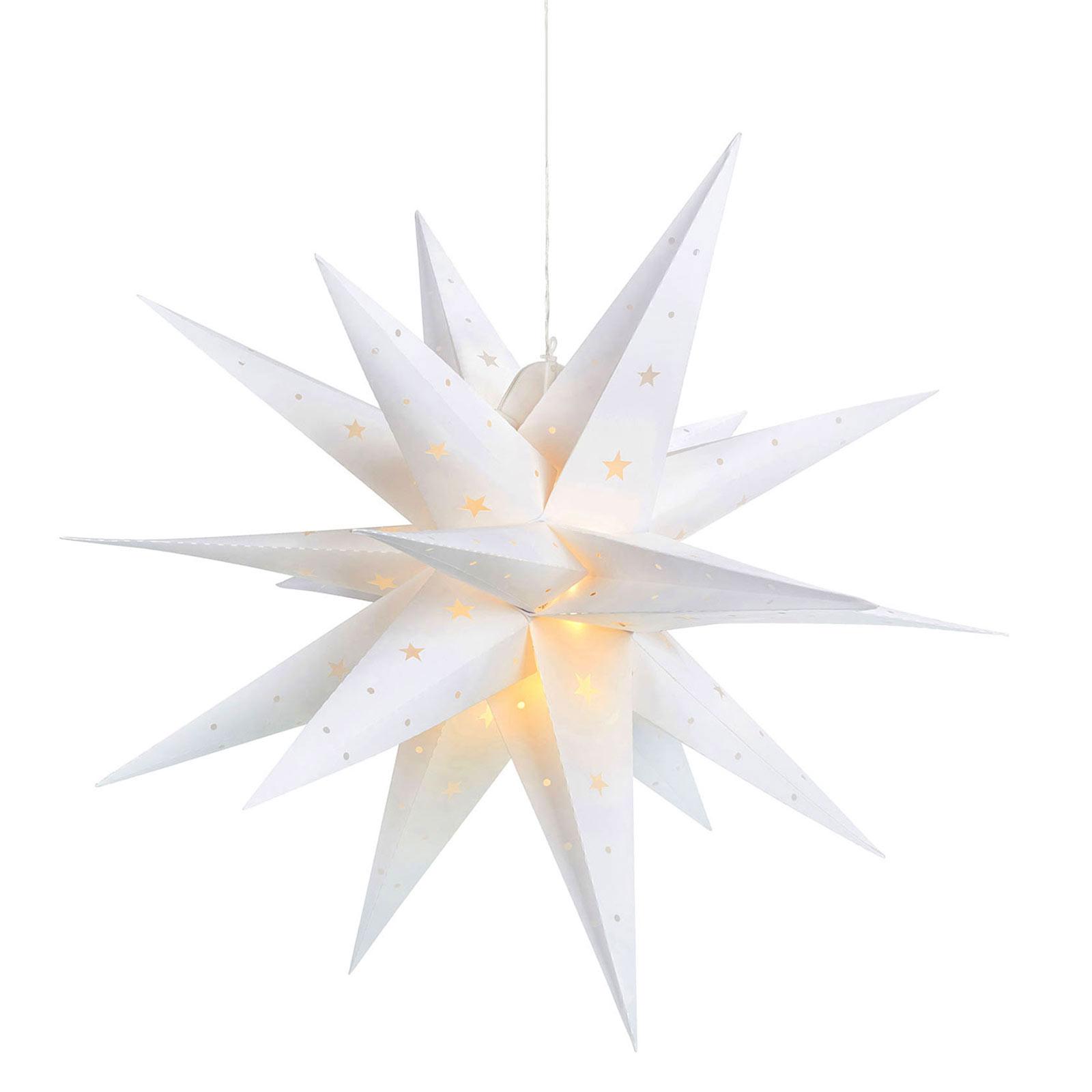 LED-stjerne Vectra 3D for utendørs bruk Ø 60 cm