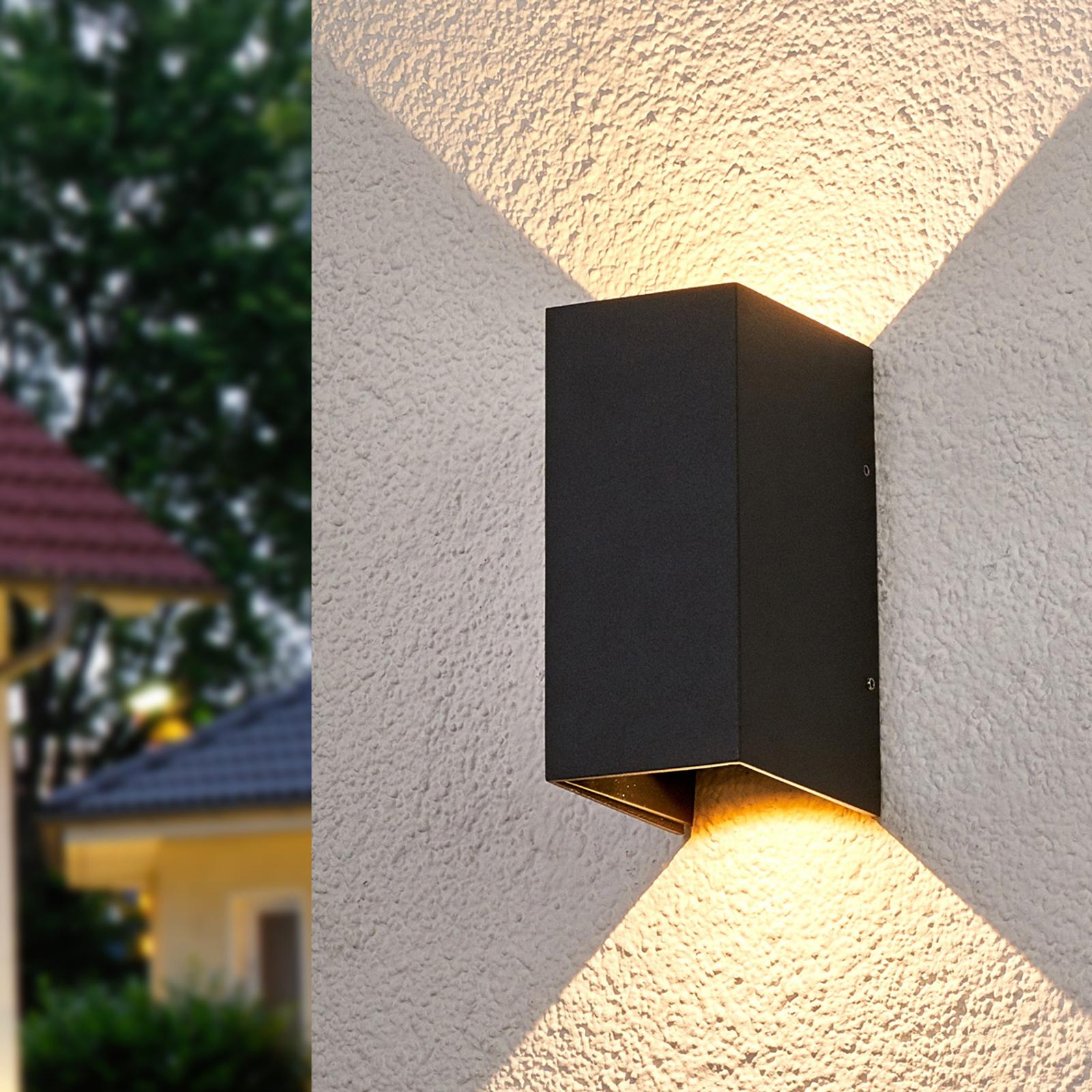 Lampada parete LED Kimian illuminazione doppia