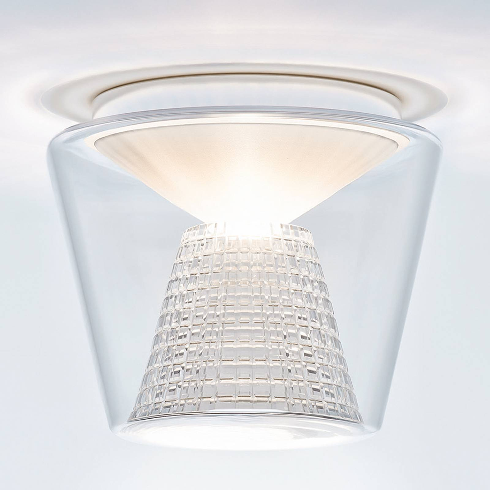Annex - lampa sufitowa LED - kryształowy reflektor