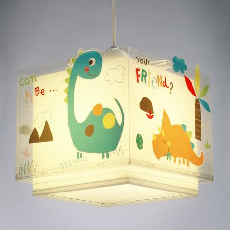 Colorida lámpara colgante infantil Dinos