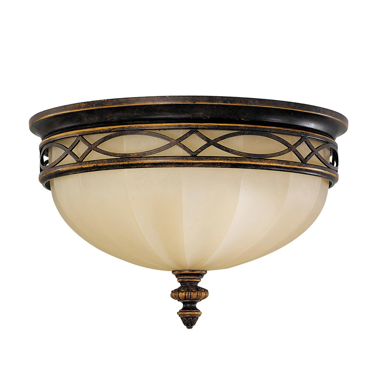Drawing Room - lámpara de techo con vidrio Scavo