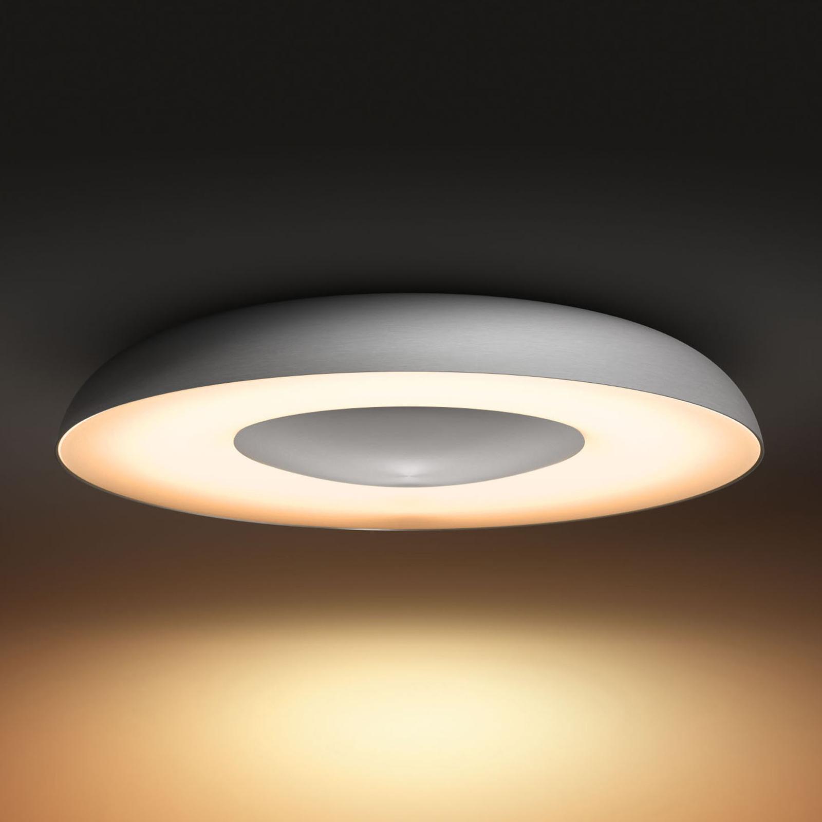 Philips Hue White Ambiance Still Deckenlampe alu