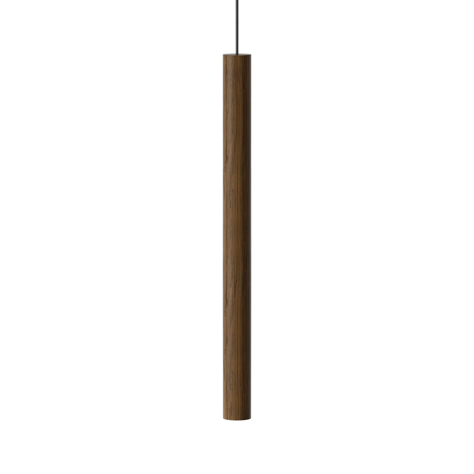 UMAGE Chimes Tall LED-pendellampe mørk eik