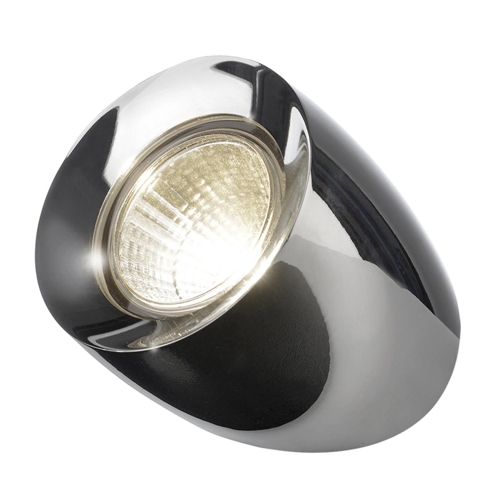 Lampa stołowa LED Ovola, chrom
