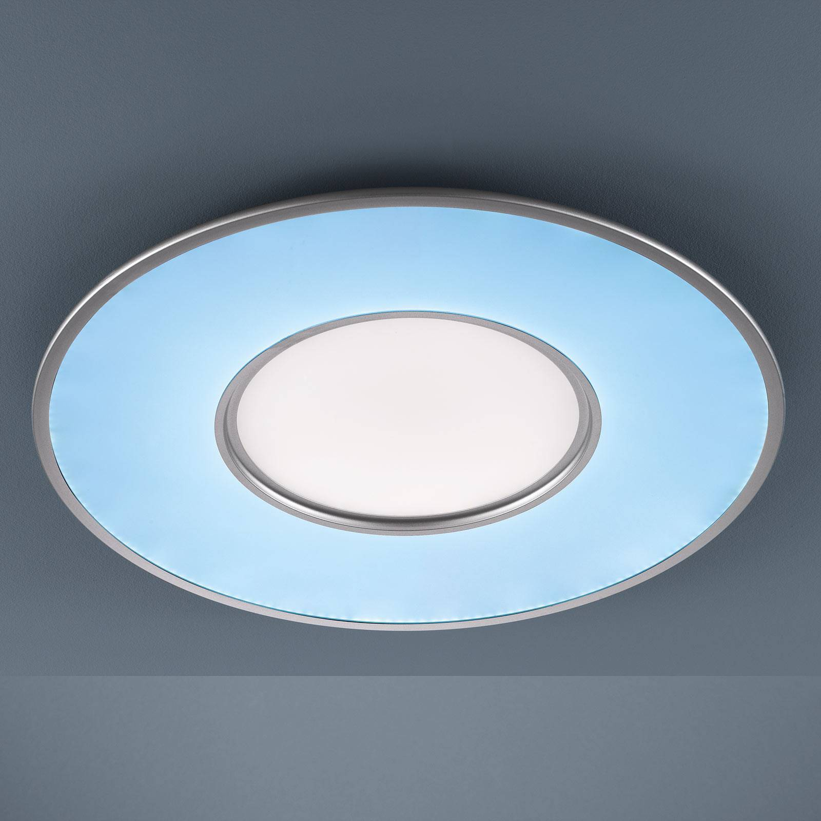 Lampa sufitowa LED Mia z CCT i pilotem