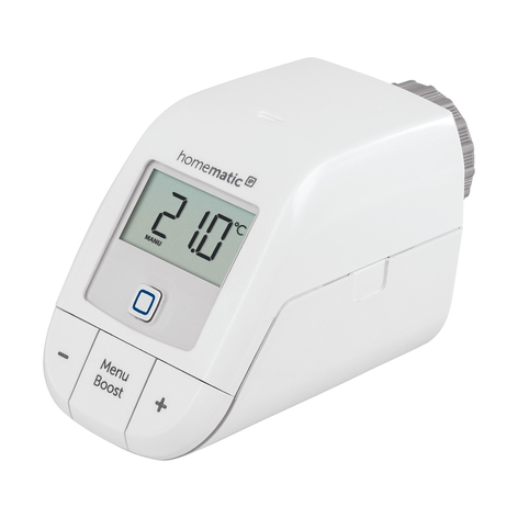 Homematic IP termostato de radiador básico