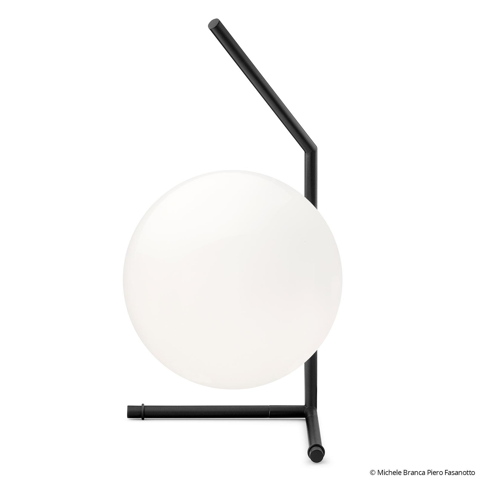 FLOS IC T1 Low -design-pöytälamppu, musta
