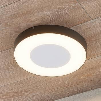 Plafoniera LED da esterni Sora tonda con sensore