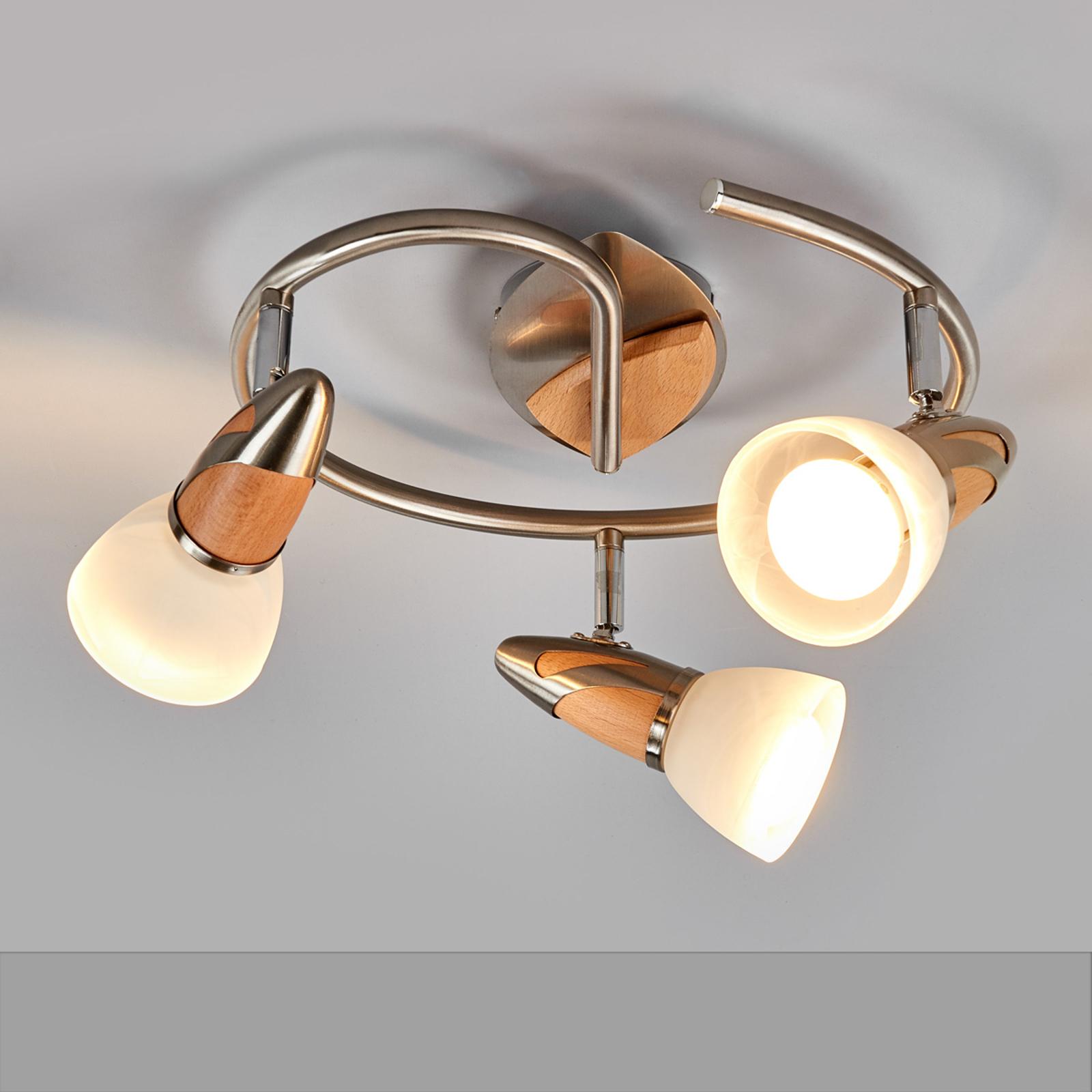 Plafonnier LED Marena à trois lampes