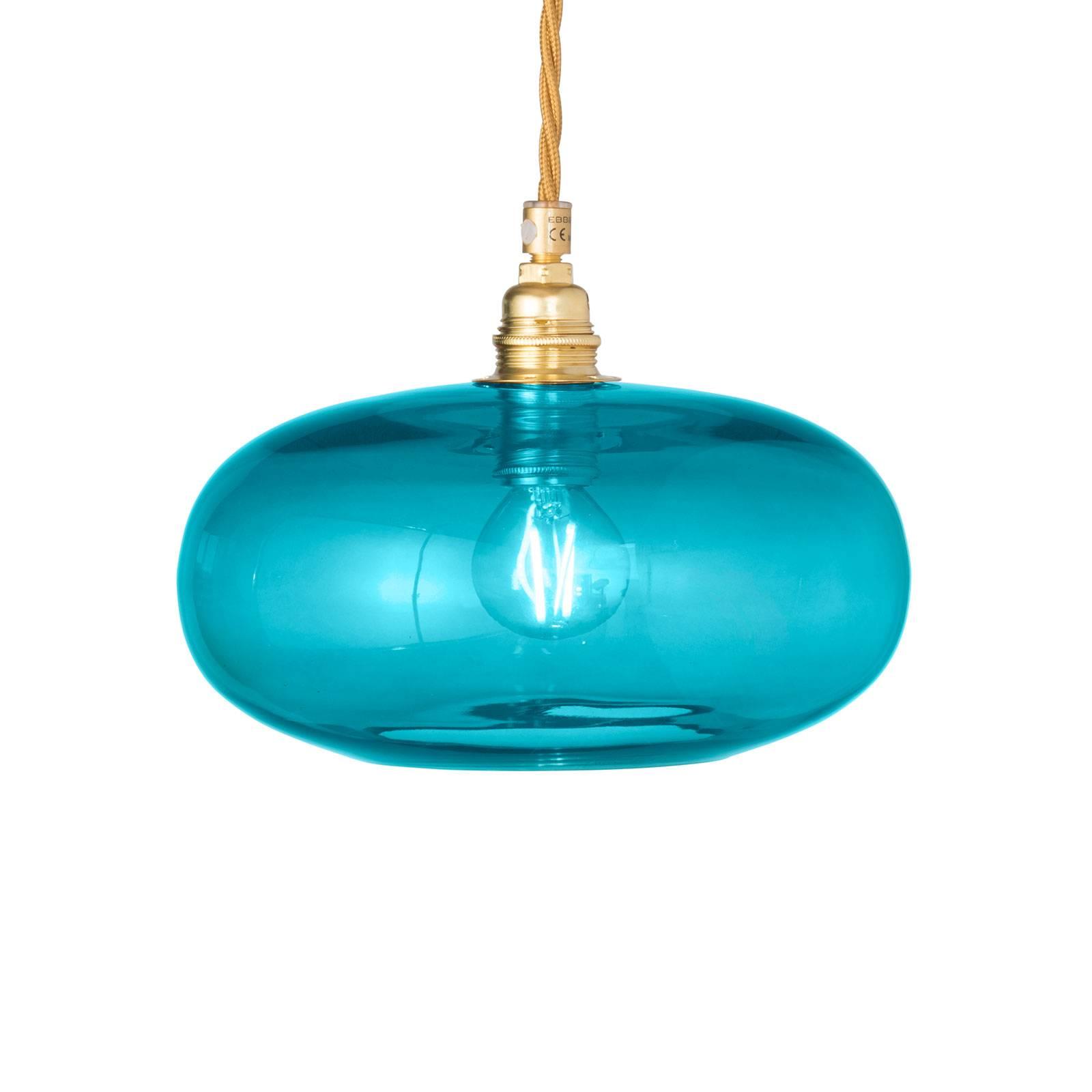 EBB & FLOW Horizon lampa wisząca niebieska Ø 21cm