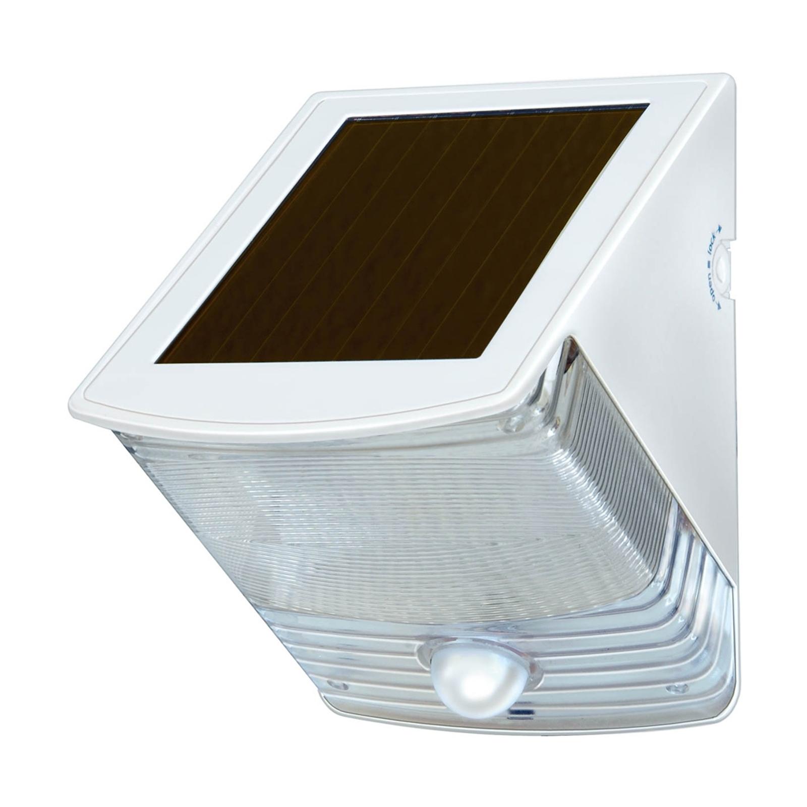 Solar-LED-wandlamp SOL 04 IP44 wit