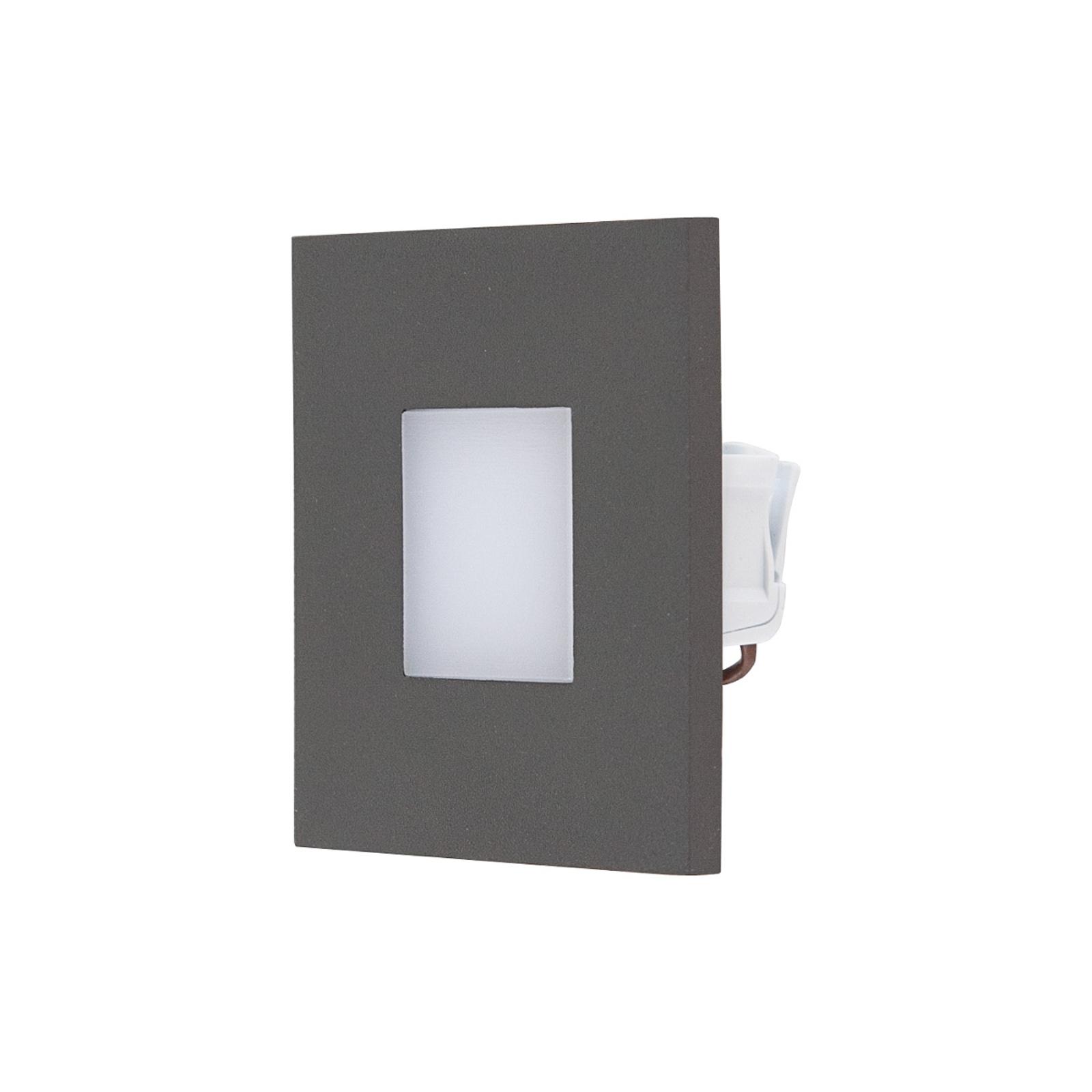 EVN LQ230 LED-Wandeinbauleuchte direkt anthrazit