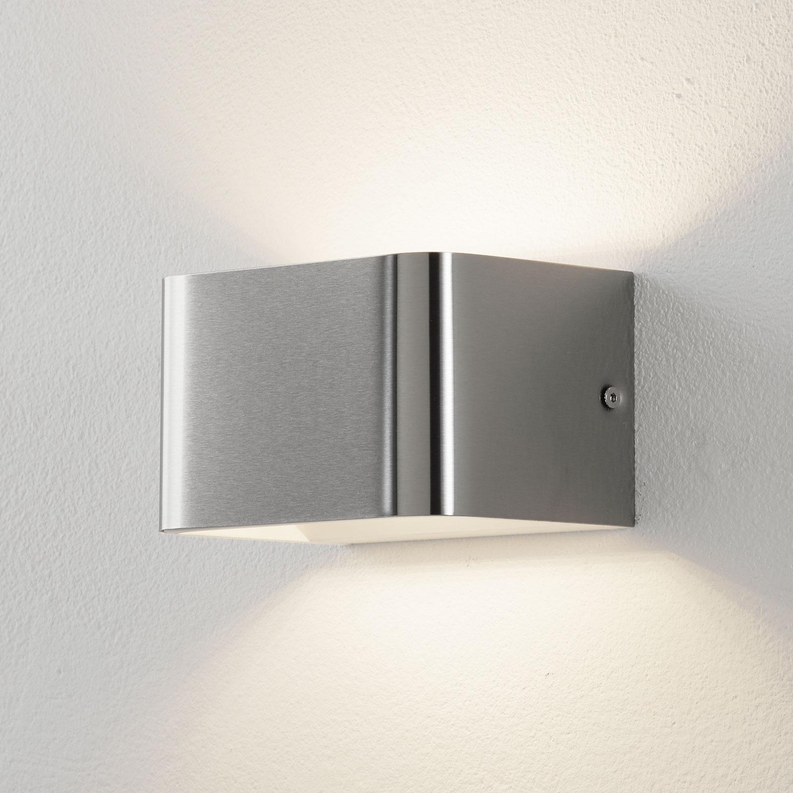 Lucande Sessa LED-Wandleuchte 13cm nickel matt