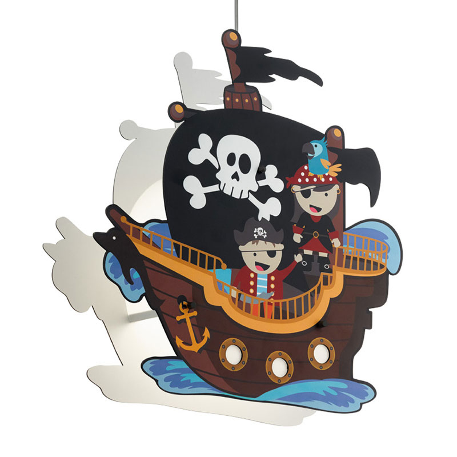 Lampa wisząca San Carlo statek piratów