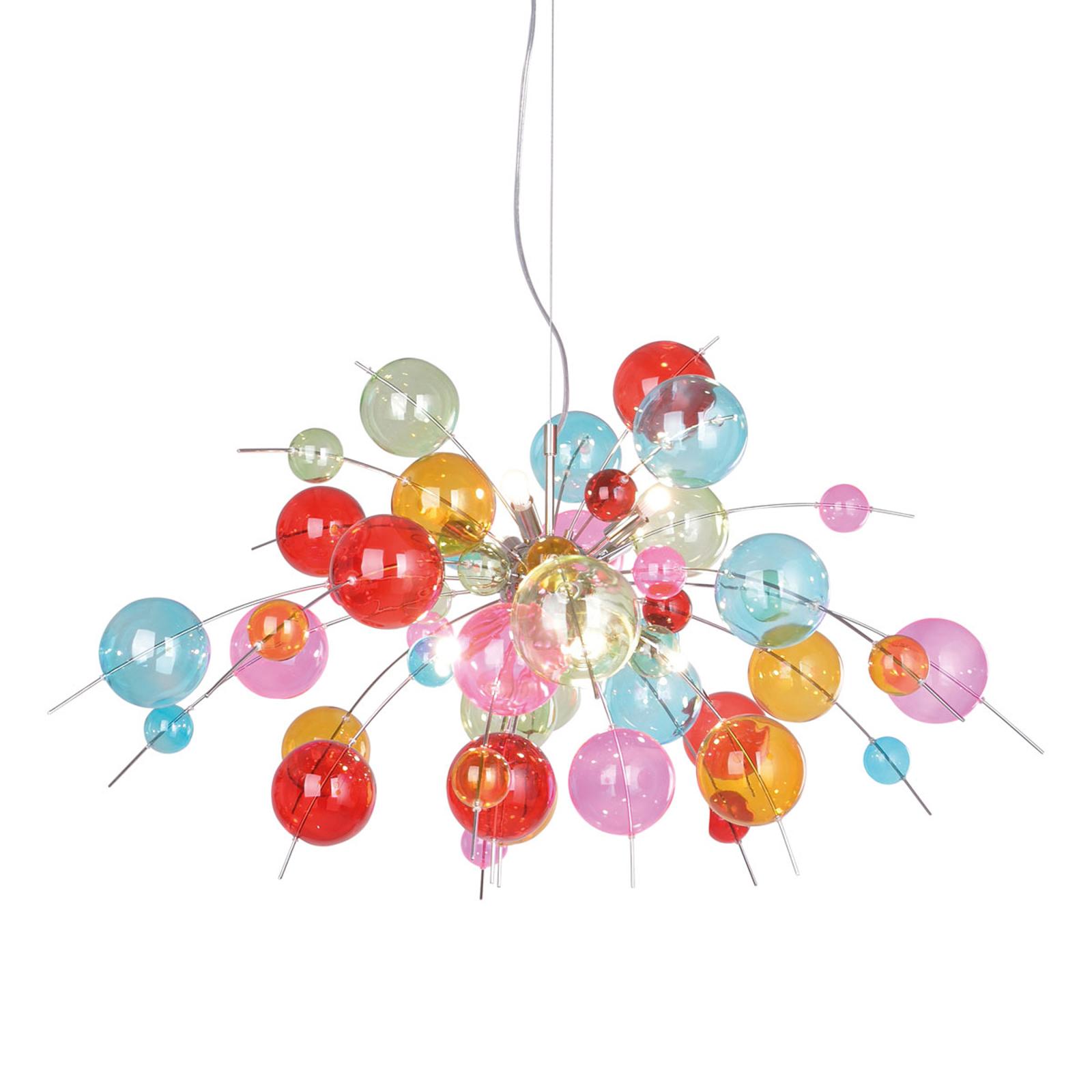 Kolorowa lampa wisząca Aurinia Ø 98 cm
