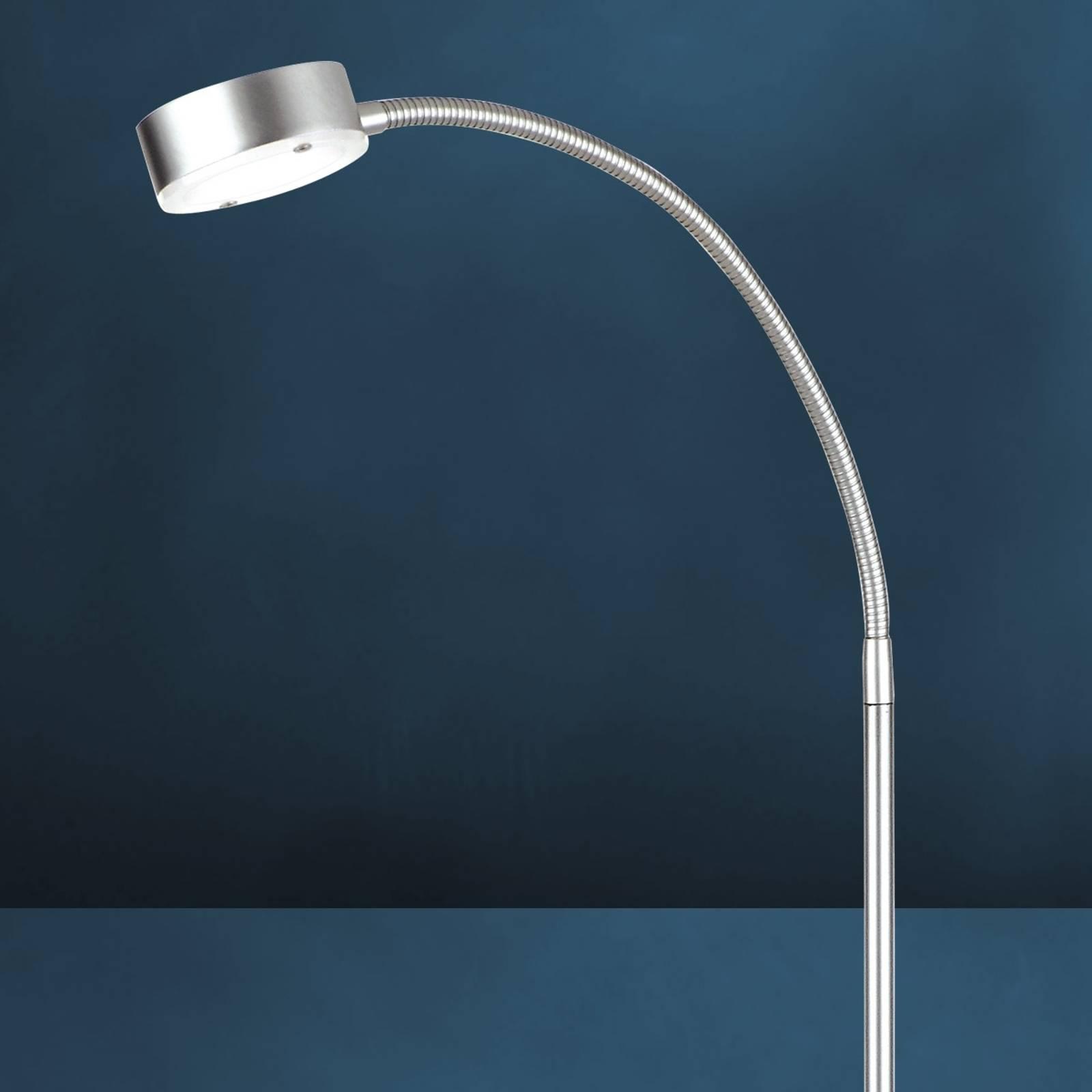 Giętka lampa stojąca LED SATURN, 1-pkt.
