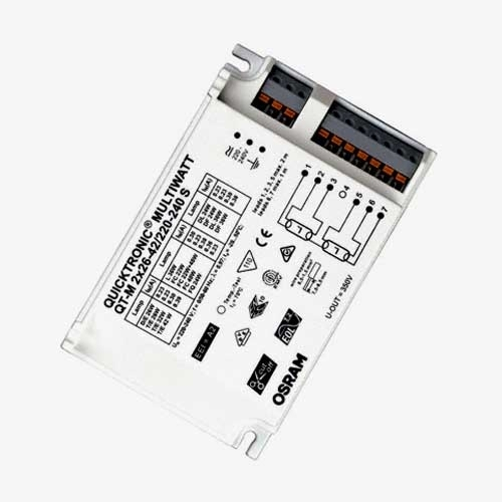 Ballast électronique QT-M 2x26-42W