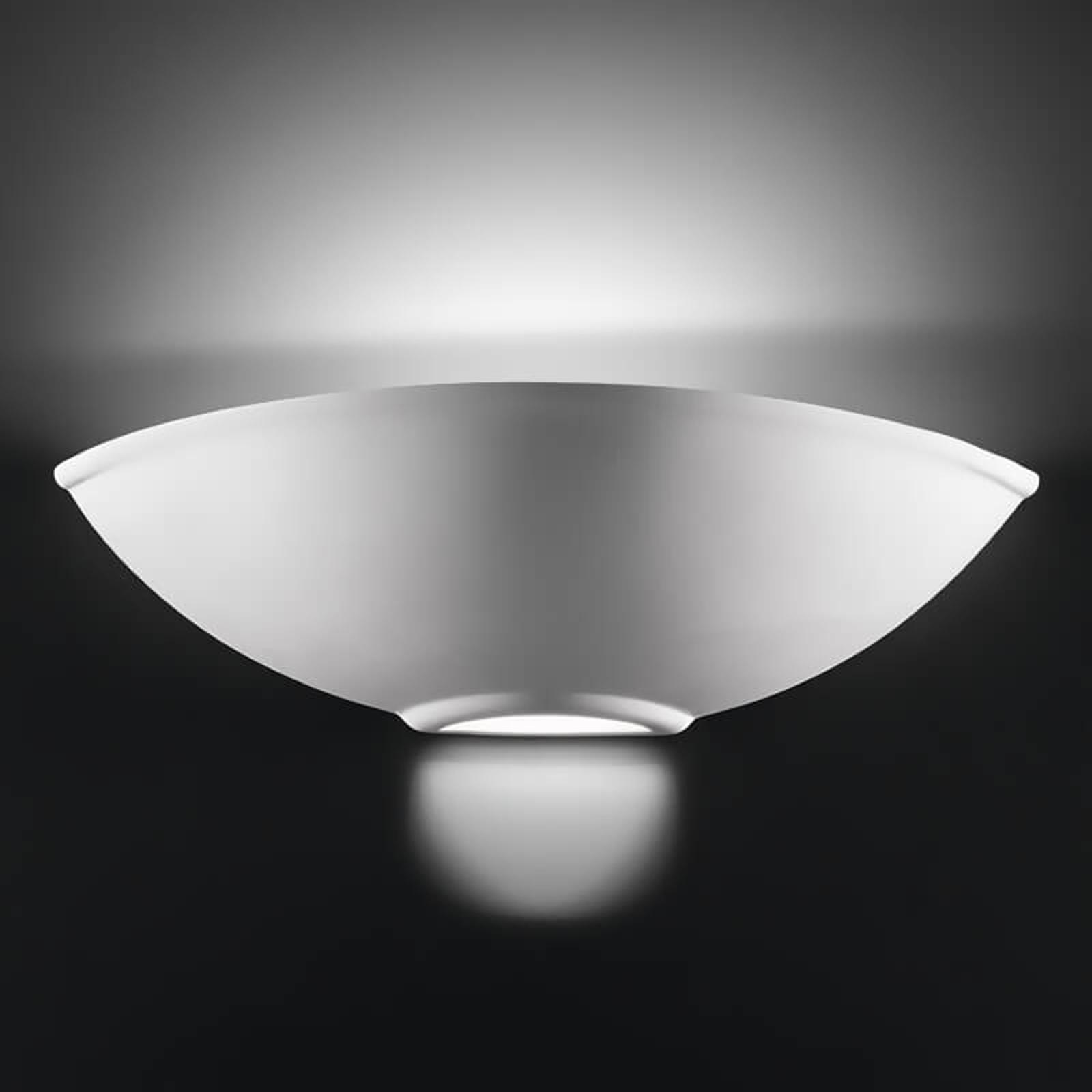 Wspaniała lampa ścienna Bisquitte z ceramiki