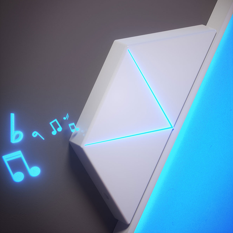 Nanoleaf Rhythm tilleggsmodul til Light Panels