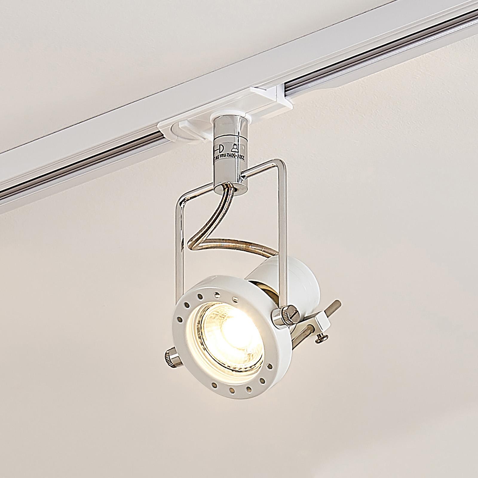LED-spot Arika til 1-faset skinnesystem, hvid